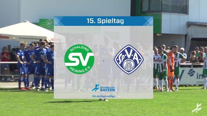 SV Schalding-Heining - SV Viktoria Aschaffenburg, 2:0