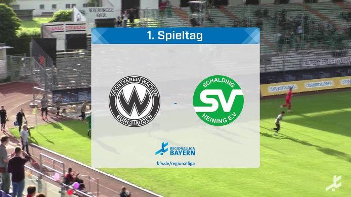 SV Wacker Burghausen - SV Schalding-Heining, 0:1