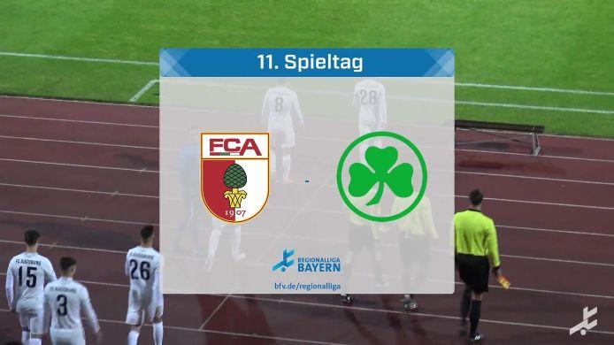 FC Augsburg II - SpVgg Greuther Fürth II, 2:2