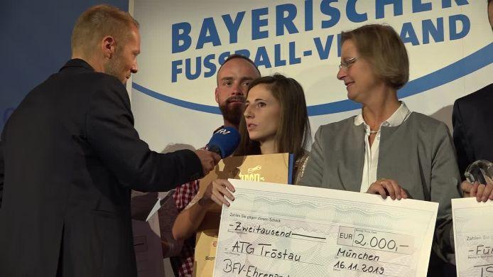 Die BFV-Ehrenamtspreisverleihung 2019