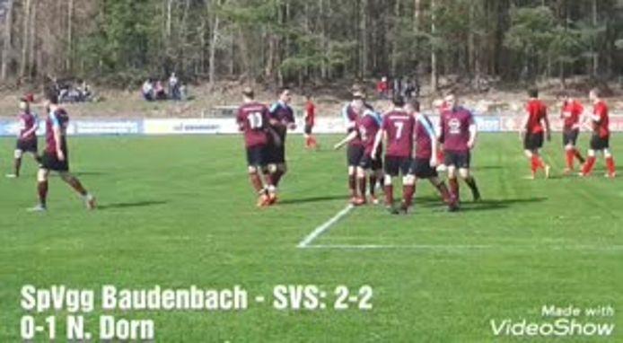 SpVgg Markt Baudenbach - SV Steigerwald-Münchsteinach