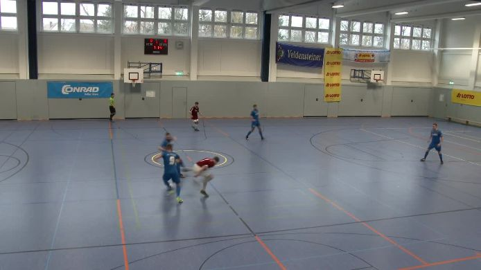 Gruppenspiel gegen FV Vilseck
