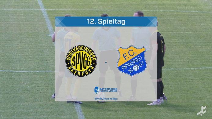 SpVgg Bayreuth - FC Pipinsried, 1:2