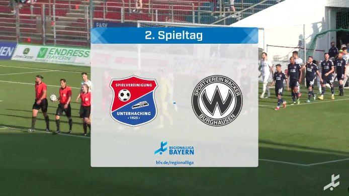 SpVgg Unterhaching - SV Wacker Burghausen, 1:2