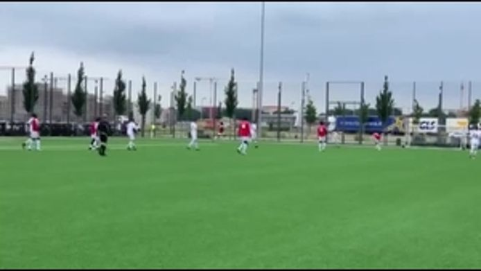 Tor zum 7:3 gegen den TSV Eching III durch Fode, 7:3