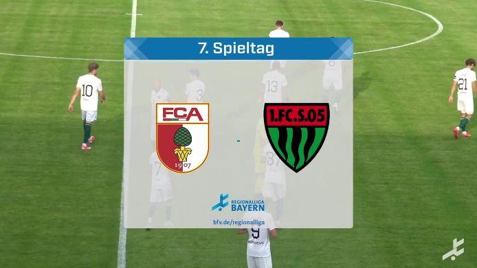 FC Augsburg II - 1. FC Schweinfurt 05, 2:2