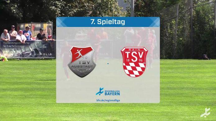 TSV Aubstadt - TSV Rain/Lech, 4:0
