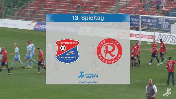 SpVgg Unterhaching - TSV 1860 Rosenheim, 5:4