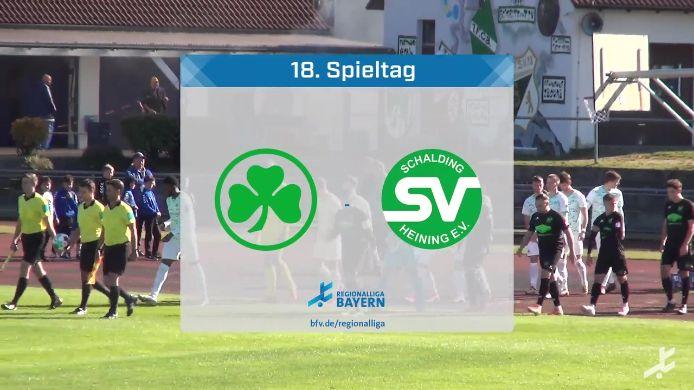 SpVgg Greuther Fürth II - SV Schalding-Heining, 2:2