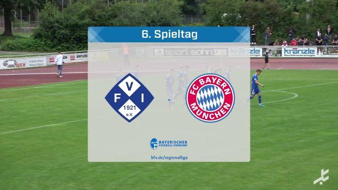 FV Illertissen - FC Bayern München II, 1:1