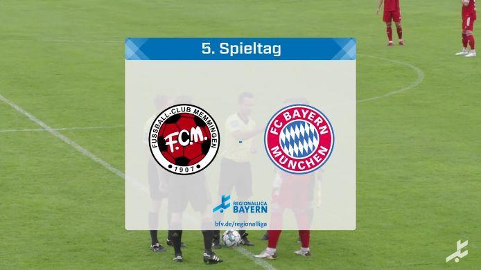FC Memmingen - FC Bayern München II, 0:4