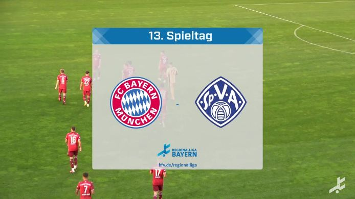 FC Bayern München II - SV Viktoria Aschaffenburg, 2:2