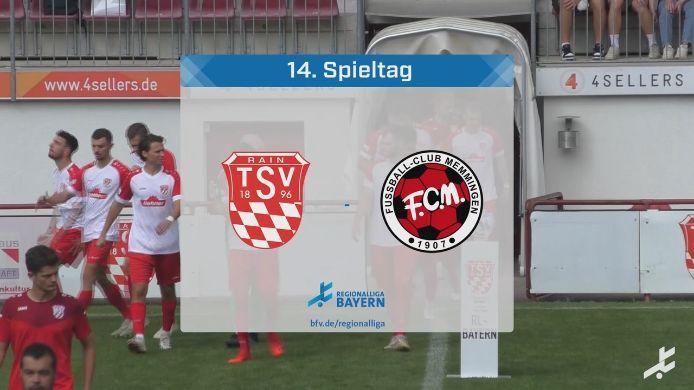 TSV Rain/Lech - FC Memmingen, 0:2