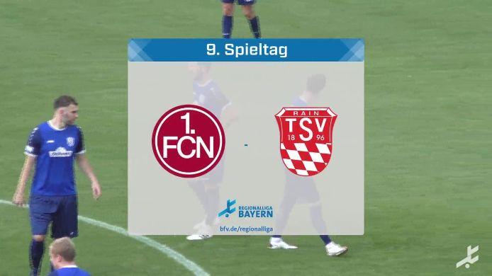 1. FC Nürnberg II - TSV Rain/Lech, 0:1
