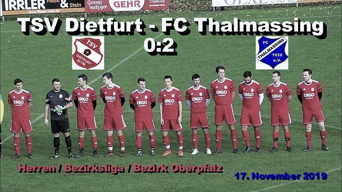 TSV Dietfurt - FC Thalmassing 0:2