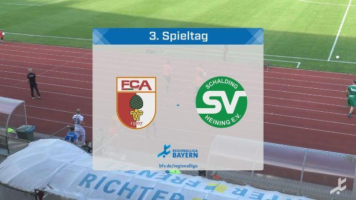 FC Augsburg II - SV Schalding-Heining, 3:1