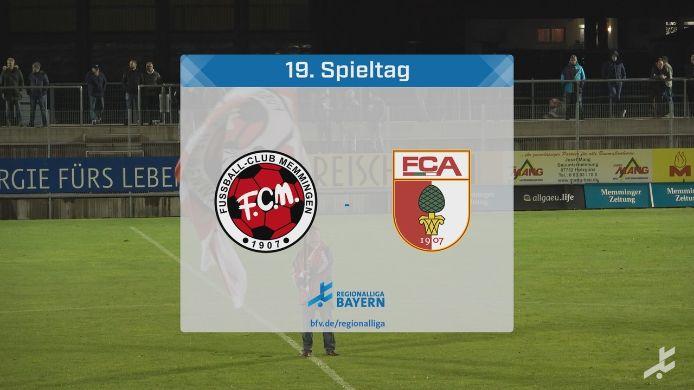 FC Memmingen - FC Augsburg II, 0:6