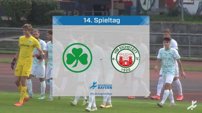 SpVgg Greuther Fürth II - VfB Eichstätt, 3:0
