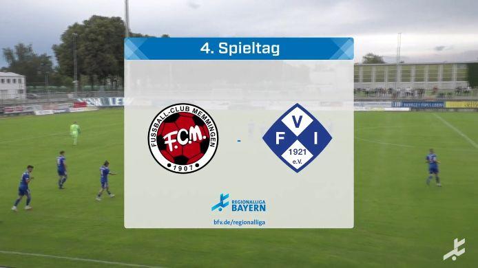 FC Memmingen - FV Illertissen, 2:2