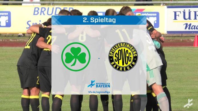SpVgg Greuther Fürth II - SpVgg Bayreuth, 0:5