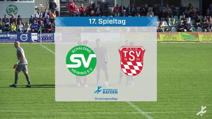 SV Schalding-Heining - TSV Rain/Lech, 0:1