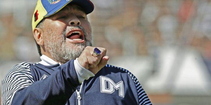 La Plata: Rücktritt von Maradona nach acht Spielen
