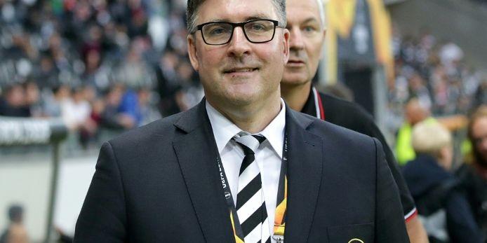 Eintracht-Vorstand Hellmann kritisiert Fans nach erneutem Pyro-Ärger