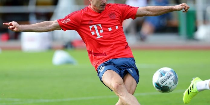 FC Bayern: Lewandowski zurück im Teamtraining