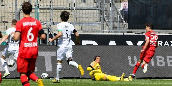 Erneuter Doppelpack: Havertz schießt Leverkusen auf Rang  drei