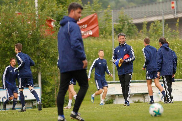 Vorbereitung UEFA Regions Cup