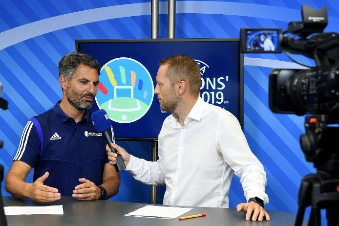 Kadernominierung UEFA Regions Cup mit BFV-Coach Engin Yanova im BFV.TV-Studio