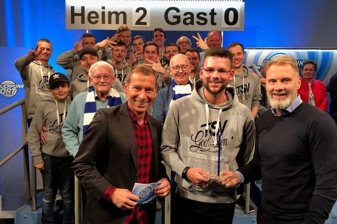 Bayern-Treffer-Gewinner Daniel Meusel vom TSV Gochsheim zu Gast bei Blickpunkt Sport