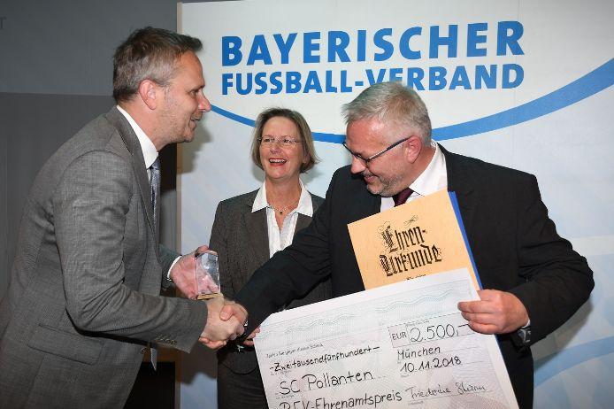 Ehrenamtspreisverleihung 2018 mit Ehrengast Dietmar Hamann