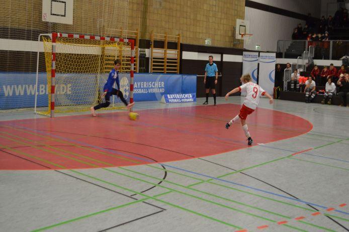 6-Meter bei der Bayerischen U13 Hallenmeisterschaft