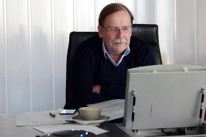 Rainer Koch im Webinar.