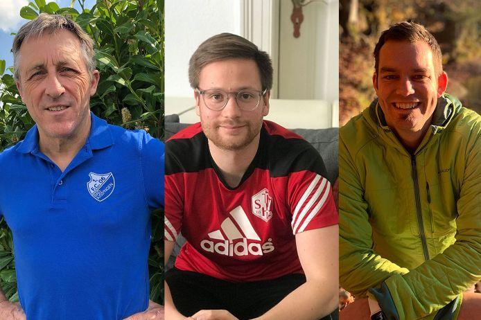 Wolfgang Werner, Marco Riedl, Florian Heller