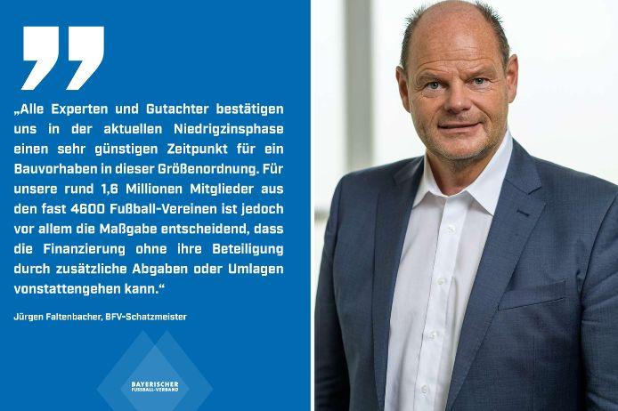 BFV-Schatzmeister Jürgen Faltenbacher