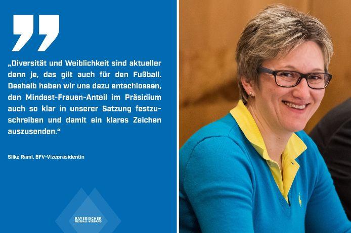 BFV-Vizepräsidentin Silke Raml