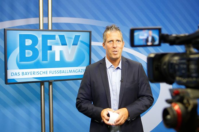 BFV.TV Fußballmagazin Feature Moderator Christian Ortlepp