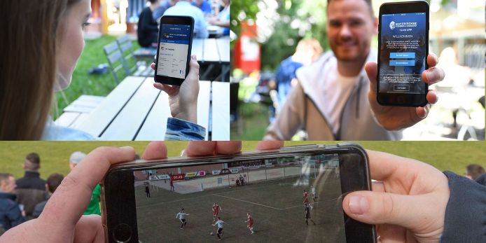 Feature BFV-Digitalangebote App Team-App Sporttotal