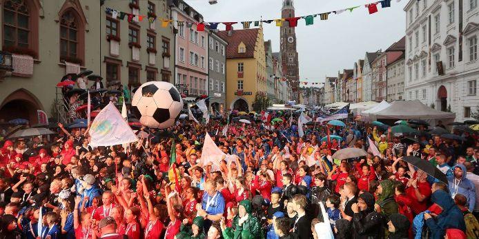 Eröffnungsfeier der Fußballiade 2019