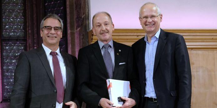 Hans-Jörg Oehmke, Hans Rößlein u. Dr. Klemens Gsell (v.l.n.r.)