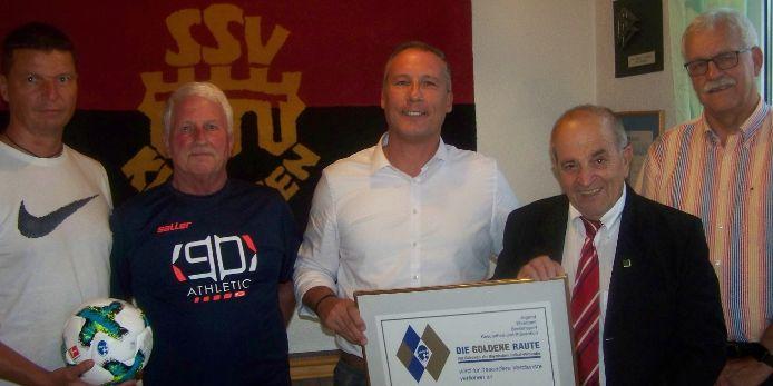 Goldene Raute SSV Kitzingen