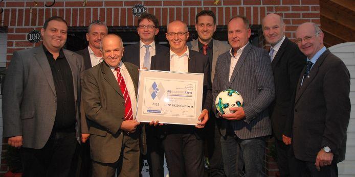 Silberne Raute 1.FC Kirchheim