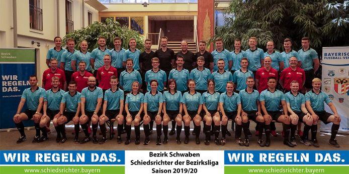 schwäbische Bezirksligaschiedsrichter Saison 2019/20