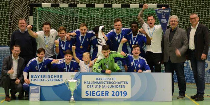 Der FC Deisenhofen hat die Bayerische Hallenmeisterschaft der U19-Junioren 2019 gewonnen.