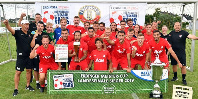 Sieger beim ERDINGER Meister-Cup 2019: Die Herren von Türkgücü München.