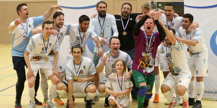 Der TSV 1860 München hat den Futsal-Verbandspokal 2019 gewonnen.