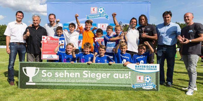 Die U11-Junioren der SpVgg Kaufbeuren haben den Kaufland Soccer Cup 2019 gewonnen.