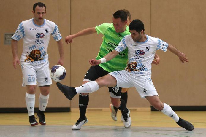 Spielszene beim Finale um den BFV-Futsal-Pokal 2019.